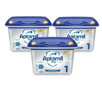 【保税仓】【3件装】Aptamil 爱他美白金版婴儿配方奶粉 1段(0-6个月)800gx3