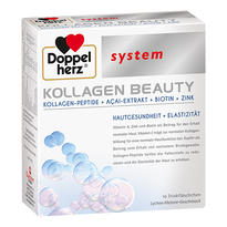 Doppelherz德國雙心 膠原蛋白肽小分子液態飲口服蛋白液 美顏修復抗衰抗皺 10支x25ml/盒