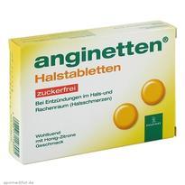 ANGINETTEN 急性口腔咽喉含片(蜂蜜檸檬味) 24粒