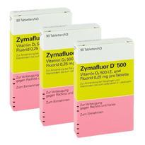 Zymafluor D500 婴幼儿维生素D 90粒 3盒装