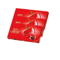 【3盒装】MON CHERI费列罗蒙雪利樱桃酒心巧克力礼盒 15颗装x3盒
