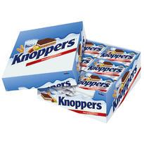 knoppers 牛奶榛子巧克力威化餅干家庭裝 24包