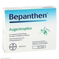 Bayer 拜耳Bepanthen 眼干眼涩缓解疲劳滴眼液 20X0.5 ml