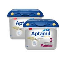 【用码BAMK 包邮包税】【2盒装】【限量补货】Aptamil Profutura 爱他美白金版婴儿配方奶粉 2段 6月+ 800gx2