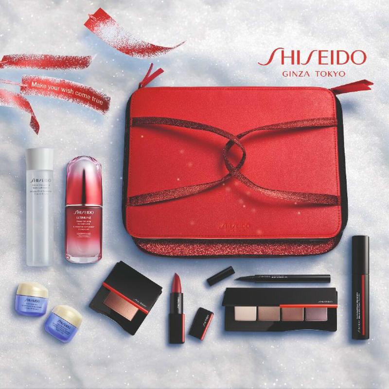 Shiseido 资生堂 圣诞限定礼盒套装9件装 优惠券折后€87 海淘免运费直邮到手¥679
