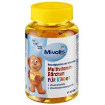 Das gesunde Plus Mivolis 儿童多种复合维生素小熊软糖 60粒