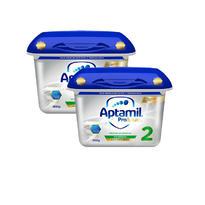 【用碼BAMK 包郵包稅】【2盒裝】奧地利版 Aptamil 愛他美白金版嬰幼兒奶粉 2段 6月+ 800gx2