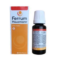 Ferrum Hausmann 早产儿婴幼儿童孕妇 补铁滴剂 30ml